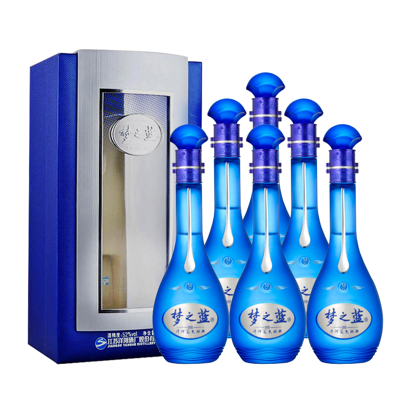 45 洋河梦之蓝m6 整箱6瓶装